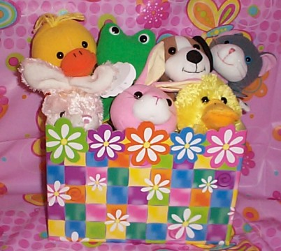 LDKTKED05 Little Duck & The Key To Every Door Cutie Basket