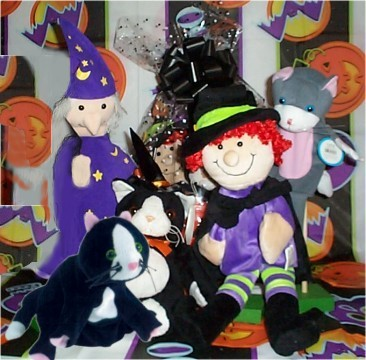 "HBRS04 Ruby""s Stew Puppets w/stuffed Mischeif Cat"
