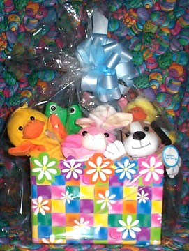 LDTKTEDB05 Little Duck And The Key to Every Door Cutie Basket