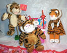 Softee Wild About You, 3  Tigers Valentine Basket
